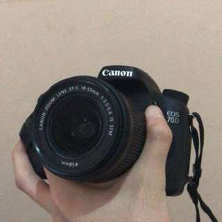 CANON EOS 70D 18-55mm f3.5-5.6 IS STM