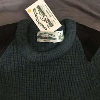 Ireland wool sweater
