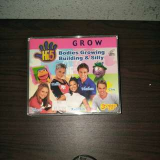 Hi5 Grow DVD
