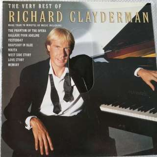 THE VERY BEST OF RICHARD CLAYDERMAN