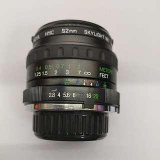Vivitar 24mm f2.8 wide angle lens