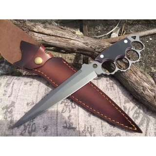 WZSK-002 HUMMING BIRD KNUCKLE SURVIVAL/CAMPING KNIFE