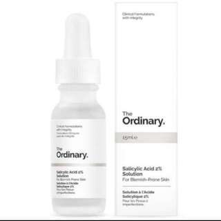 [Authentic] The Ordinary Salicylic Acid 2% Solution