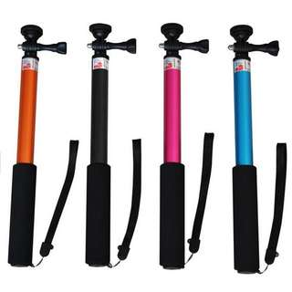 Tongsis Monopod Round Mount for Action Camera / Smartphone