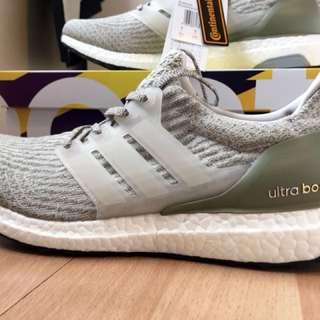 Adidas Ultraboost v3 Pearl Grey Olives
