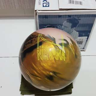 Undrilled 15lbs Brunswick True Nirvana Bowling Ball