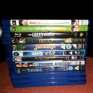 #G $12 for any 3 Blu ray Movies