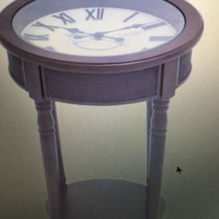 End table clock