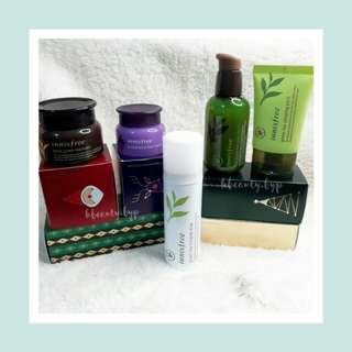 Innisfree Winter Care Collection Holiday Edition