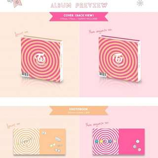 TWICECOASTER: LANE 1 W/O PO BENEFITS AND POSTERS