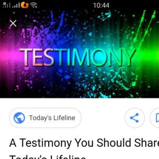 Testimony n received items