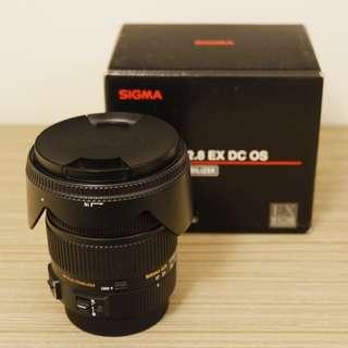 超新SIGMA 17-50mm f2.8 EX HSM (CANON)