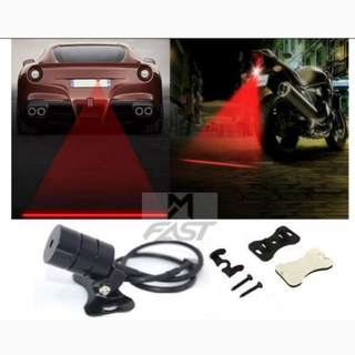 Car / Motor Bike Laser Fog Lamps and Warning Light 888