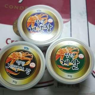 韓國蟹膏罐頭