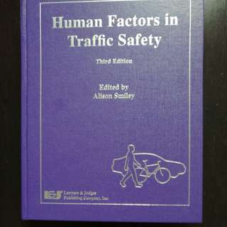 MIE1414 Human Factors in Transportation Textbook