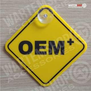 SIGN BOARD OEM +