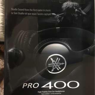 Yamaha PRO 400 Headphones.