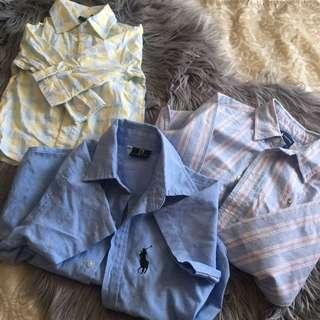 Kids button up shirts