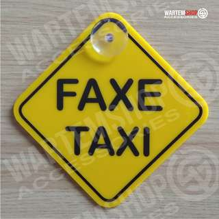 SIGN BOARD FAXE TAXI