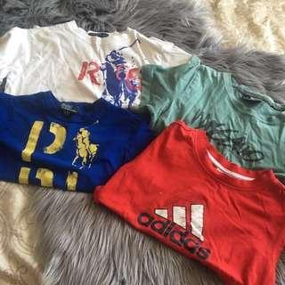 Children's brand tshirts