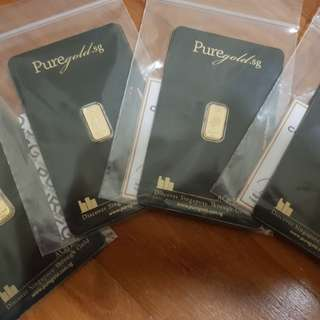 999 1gram pure gold for sales