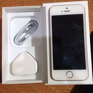 iPhone 5s 32gb Gold FU
