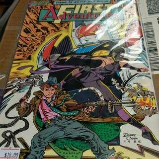 First Comics not marvel not DC not dark horse comics