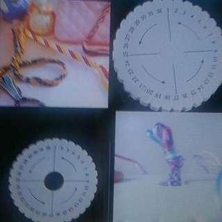 Kumihimo Braiding Plate Disc