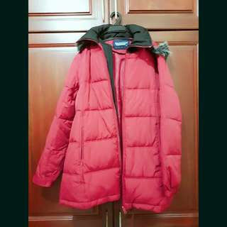 Universal traveller down feather jacket size XL