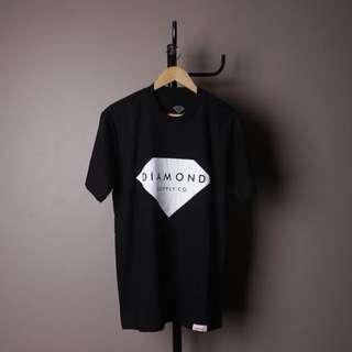 Diamond logo black T-shirt