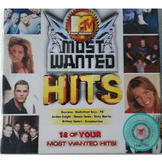 MTV MOST WANTED HITS CD + VCD