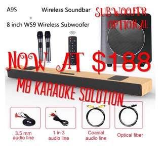 Ktv Karaoke soundbar A9KS