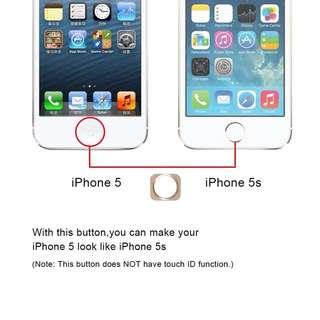 iPhone 5 To iPhone 5S Home Button Mod