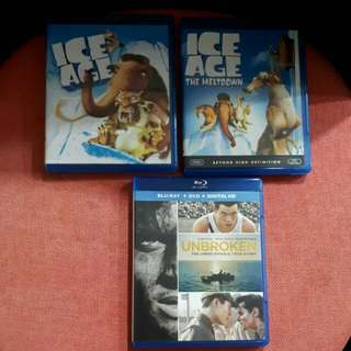 R10 $12 for 3 Blu ray Movies