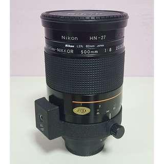 Nikon 500mm f/8 Reflex Lens