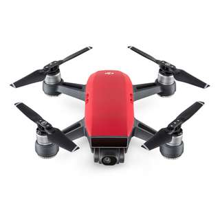 DJI Spark Fly More (Lava Red color)