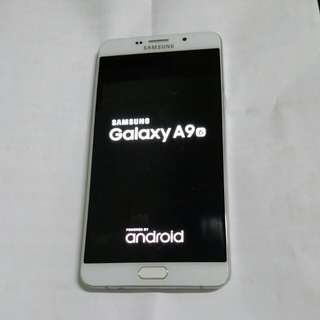 Samsung A9行貨2sim白銀色32gb單手機