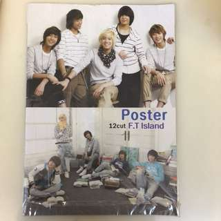 全新FTIsland Poster Set, File