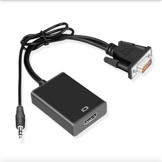 VGA轉HDMI 轉換器帶音頻接口
