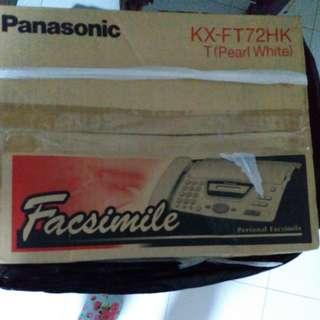 Panasonic 傳真機 fax 機
