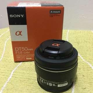 Sony Lenses DT 50mm