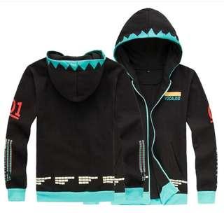 hatsune miku jacket m-xxl