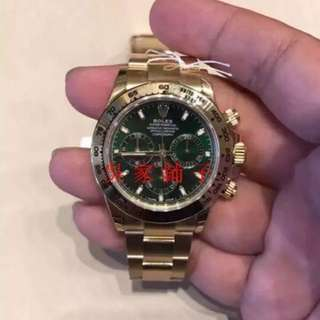 Rolex勞力士綠盤迪通拿 116508 男款自動