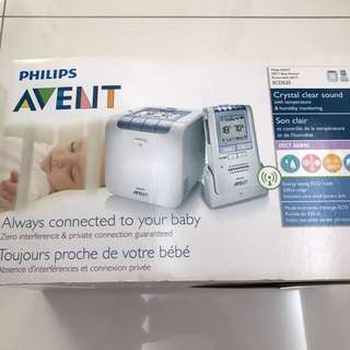 Pre-loved Philips Baby Monitor