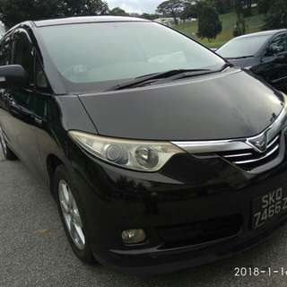 Toyota Estima hybrid  2.4a sunroof moonroof SG