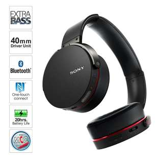 SONY XB950BT EXTRA BASS Wireless Headphones