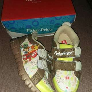Fisher price boys shoes US5 for 1-2yrs old