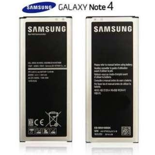 Batere battery Samsung Note 4 Ori SEIN awet min 2 thn