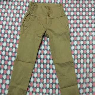 Pre-loved Brown adjustable pants