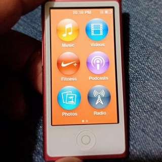 Ipod Nano 7th Generations 16 gb
